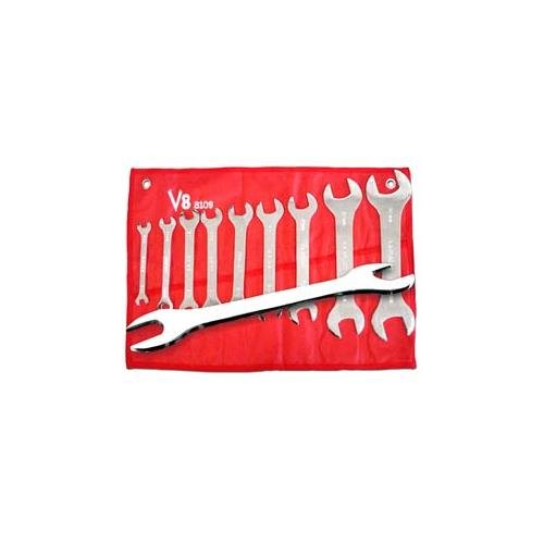 V8 Tools 8109 - 9 Metric Piece Super Thin Wrench Set