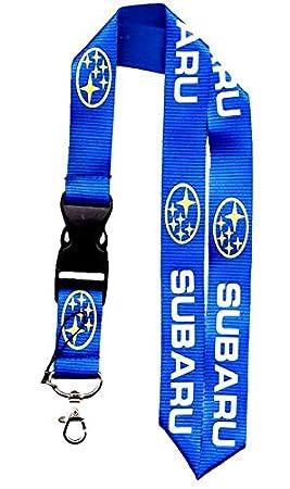 Tgh (LanSub Lanyard Llavero Azul con Logo Subaru: Amazon.es ...