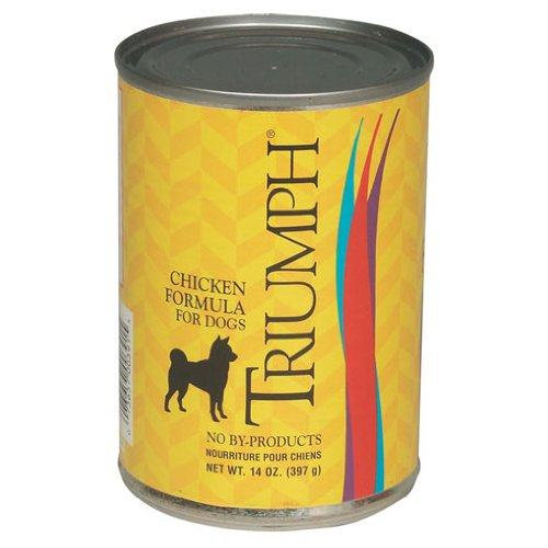 Triumph Chicken Dog Food – 12×13.2oz