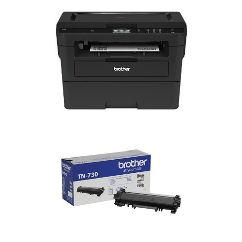 Brother Compact Monochrome Laser Printer, HLL2395DW with Standard Yield Black Toner
