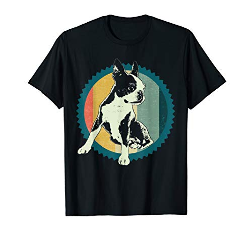 - Classic Vintage Boston Terrier T-Shirt Gift Idea