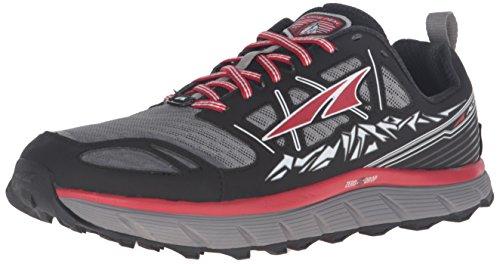 Altra Lone Peak 3.0 Zapatillas de trail running Negro/Rojo