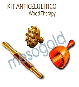 Amazon.com: Anti Cellulite Kit Wood Therapy, Improves ...
