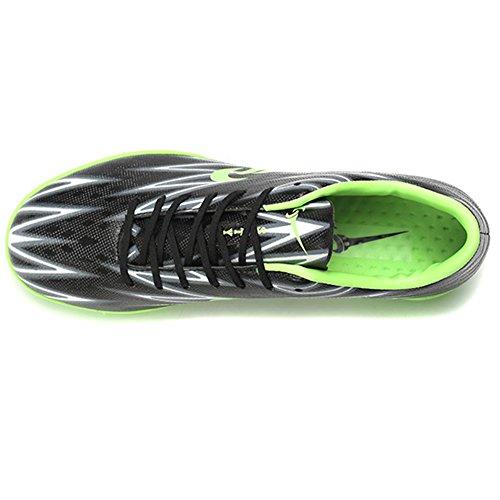 Leider Show Mens Prestatie Voetbal Schoenen Mode Training Atletische Voetbal Schoenplaten Zwart-tf