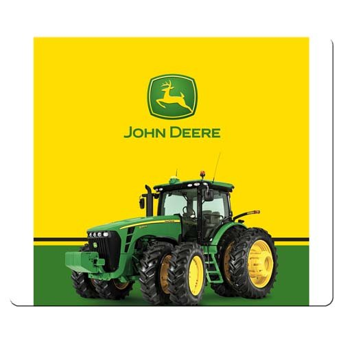 (30x25cm 12x10inch gaming mousemat cloth & rubber Non-skid Base Strong flexible john deere)