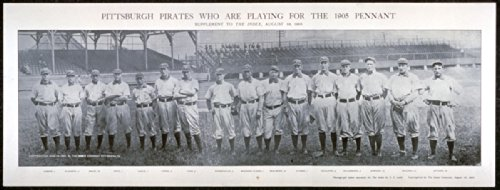 c1905 Pittsburgh Pirates who are playing for the 1905 pennant 24