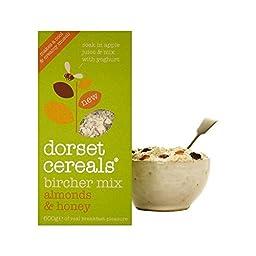 Dorset Cereals Almonds & Honey Bircher Muesli Mix 600g - Pack of 2