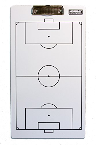 (Murray Sporting Goods Dry-Erase Double Sided Soccer Coaches)