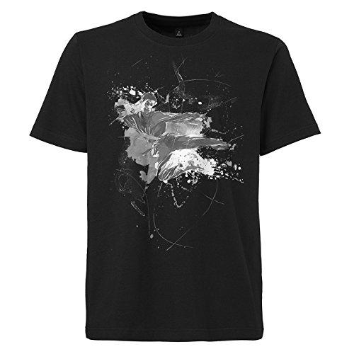 Karate_II schwarzes modernes Herren T-Shirt mit stylischen Aufdruck