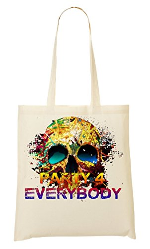 provisions Skull à Everybody Fourre Popular Osom ShutUp tout Sac 4 Party Sac IqxwPpWOBg