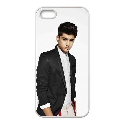 Zayn Malik 006 coque iPhone 4 4S cellulaire cas coque de téléphone cas blanche couverture de téléphone portable EOKXLLNCD20935
