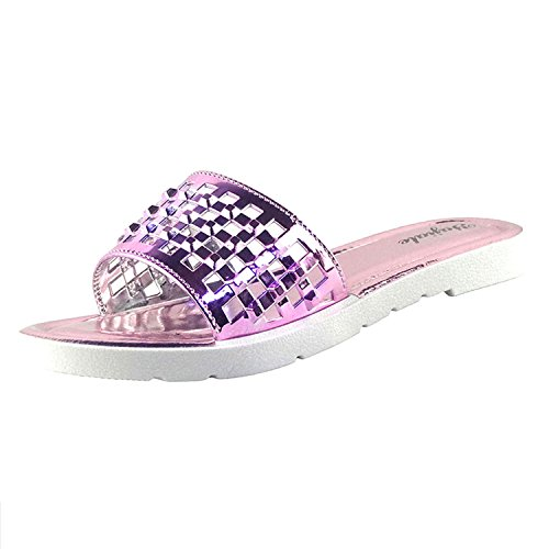 chfso-womens-glitter-antiskid-hollow-out-beach-slippers-patent-leather-flat-slide-sandals