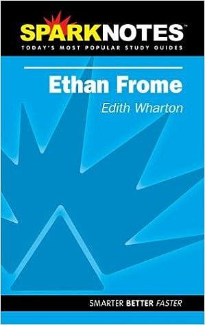 com spark notes ethan frome edith wharton  spark notes ethan frome study guide ed edition