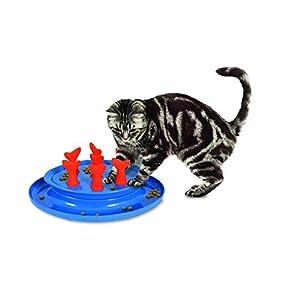 Petmate Jackson Galaxy Go Fish Slow Feeder Puzzle Bowl 11
