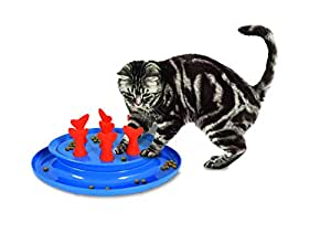 Jackson galaxy 31968 go fish slow feeder puzzle bowl for Jackson galaxy pet toys