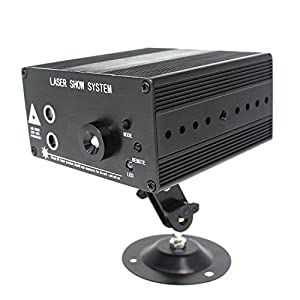 Xcellent Global RGB LED Professional Projector Sound Active Remote Controlled Stage Light for DJ Bar Home Show Party Wedding Christmas Halloween LD125S
