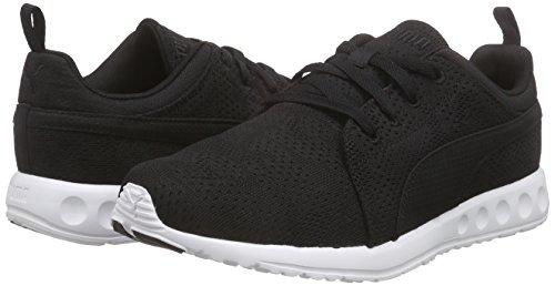 PumaCarson Runner Camo Mesh EEA - Zapatillas de Running Unisex adulto Negro (Black/White 05)