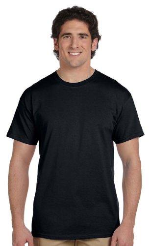 Gildan Men's Heavy Cotton T-Shirt (Black) - Mens Cheap