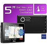 Binatone M515 5 Inch UK and ROI Sat Nav with Dash Cam