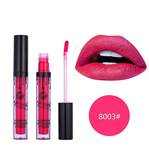 UOKNICE Halloween Romantic May Lipstick Waterproof Long Lasting Matte Liquid Lipstick Cosmetic