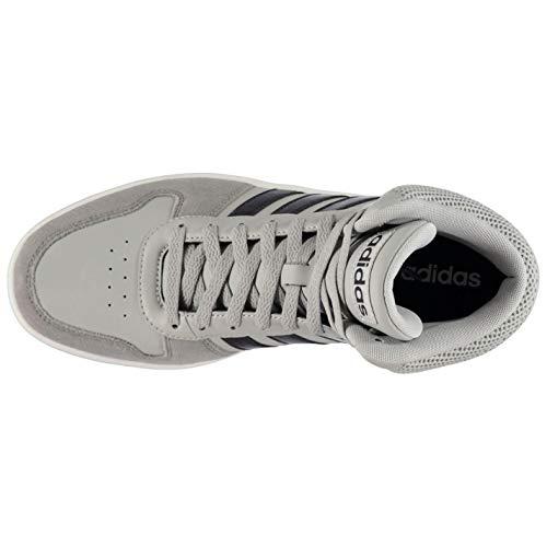 Adidas Mid Uomo 0 2 Grigio legink Da grethr grethr legink Scarpe Gretwo Basket gretwo Hoops wwnZx41U