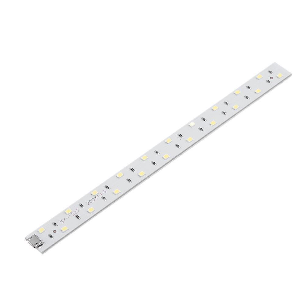 Gracefulvara 20cm Lamp Strip Hard Light Tube Bar Portable Photo Studio