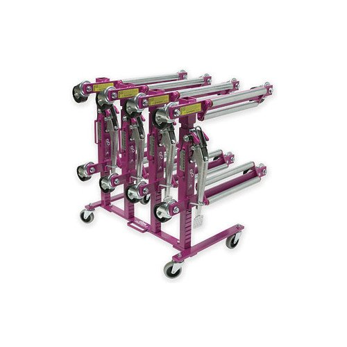 Zendex Tool 456 GoJak Rack 456, Holds Four of Any Model GoJak, Load and Unload in Seconds, Rolls Easily to Job or Storage Area by Zendex Tool