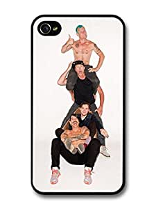 Red Hot Chili Peppers Rock Band RHCP Piled Up Funny case for iPhone 4 4S