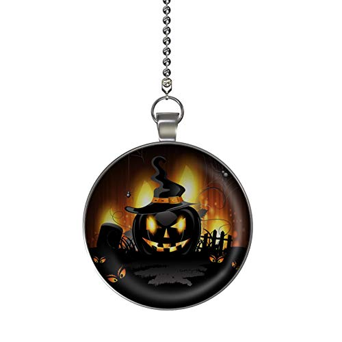 Gotham Decor This is Halloween Fan/Light Pull Pendant with Chain -
