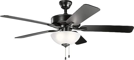 Kichler 330017SBK Basics Pro Select 52'' Ceiling Fan