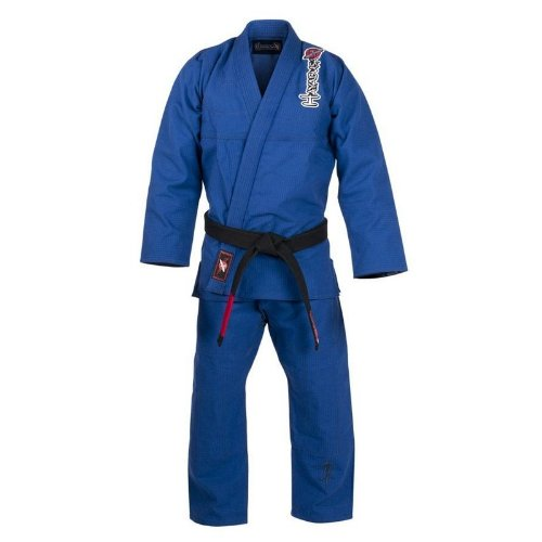 Hayabusa Pro Jiu-Jitsu Gi A2 Kanji Uniform, Blue (Jiu Jitsu Pro Gear compare prices)
