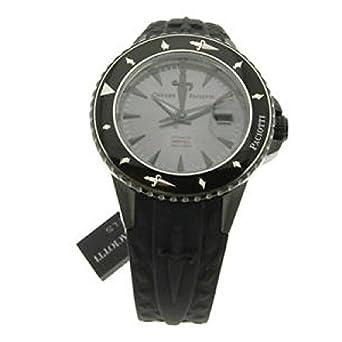 Uhr Cesare Paciotti unisex tsdf023 Schalter Stahl Quandrante anthrazit Armband Gummiarmband '