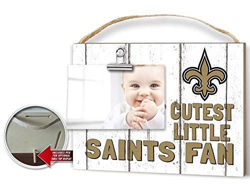 KH Sports Fan Clip It Weathered Baby Logo Photo Frame New Orleans Saints