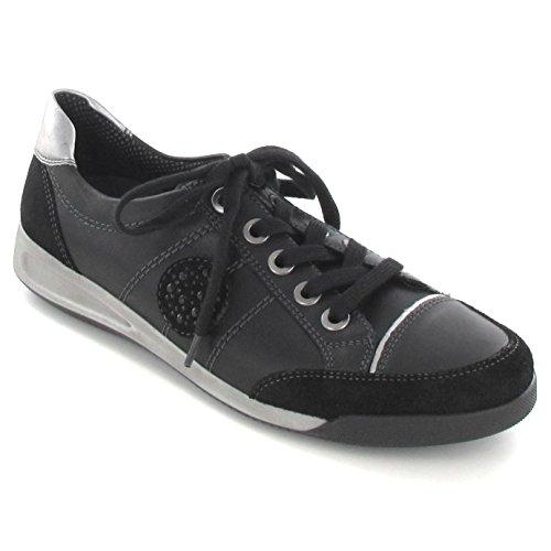 Ara Womens L.Low Shoes Black/Crow Size 37.5 M EU/4.5 F(M) UK/7 B(M) US