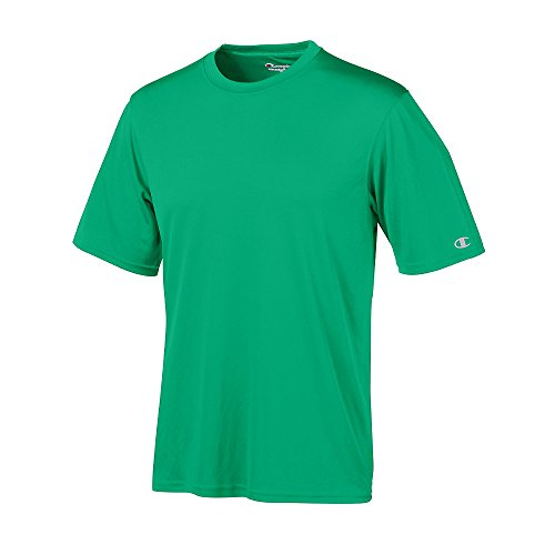 Champion para mujer doble seco 4.1 oz. V-Neck T-Shirt (CW23) Verde Kelly