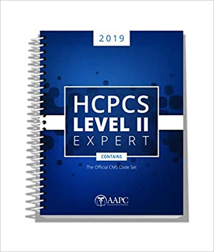 Amazon com: HCPCS Expert Level II 2019 (AAPC) (9781626886070