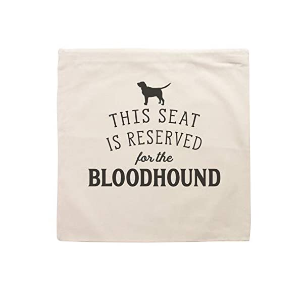 Affable Hound Reserved for The Bloodhound - Cushion Cover - Dog Gift Present 2