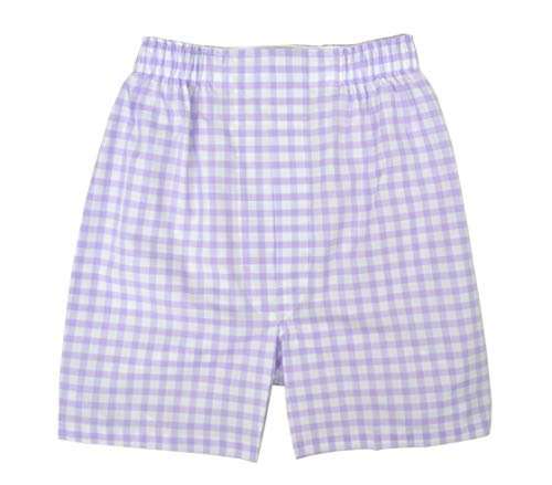 Brooks Brothers Men's Regular Fit 100% Cotton Boxer Purple White Checkered (X-Large) from Brooks Brothers