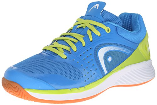 Head Men's Sprint Pro Indoor Low Shoe, Blue/Lime, 10 M US