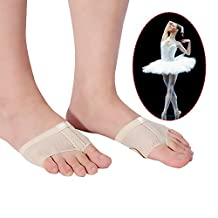 Dance Foot Thongs,Thong Toe Paws,Lyrical Shoes Lyrical Ballet Belly Dance Foot Thongs Dance Paw Pad Shoes Half Sole