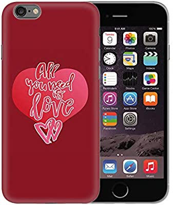 Valentine Day All You Need Is Love Lyrics Heart_BEN0939 Protective Phone Mobile Smartphone Case Funda Fundas Carcasa Cover Hard Plastic For iPhone XS MAX Funny Regalo Christmas: Amazon.es: Electrónica