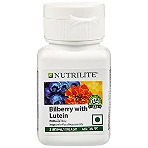 Amway Nutrilite Vision Health With Lutein 60 Tab Bilberry With Lutein 60N Tablets