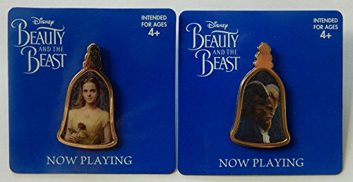 Beauty And The Beast Amc Exclusive Pin Set Belle And The Beast Disney