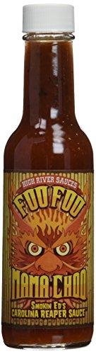 (Foo Foo Mama Choo Hot Sauce with Smoking Ed's Carolina Reaper Pepper 5.4)