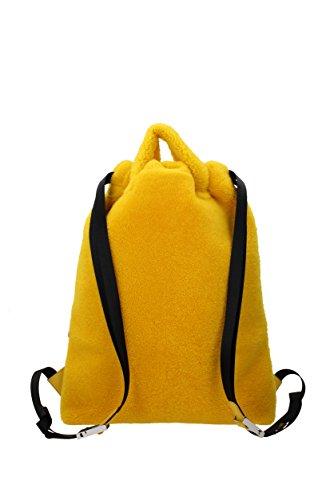 Bananes dos à Fendi et Unisex Jaune 7VZ0346IJ Fourrure Sacs 7BIAwqZ