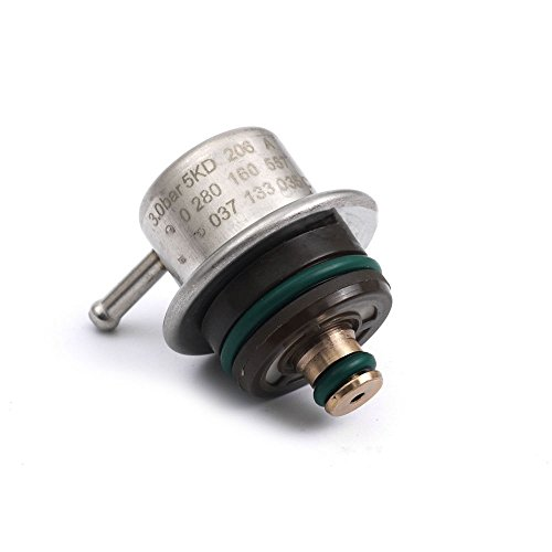 Amzparts Fuel Injection Pressure Regulator Equipment for VW Jetta Golf AUDI SKODA ()