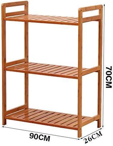ZXL Caja de Zapatos Estante de Flores Estante de Almacenamiento a Prueba de Polvo Estantería 3 Niveles Ensamblaje de Dormitorio Vestíbulo de mampara Sala de Estar Oficina Balcón Patio al Aire li: