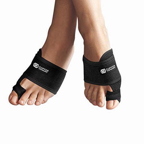 - Copper Compression Bunion Corrector Toe Splints. Bunion Relief Brace and Toe Straightener. Big Toe, Hammer Toes Splint for Men Women. 1 Pair. Bunions Support, Hallux Valgus Treatment, Feet (One Size)