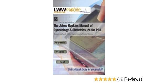 johns hopkins h andbook of obstetrics and gynecology szymanski linda bienstock jessica