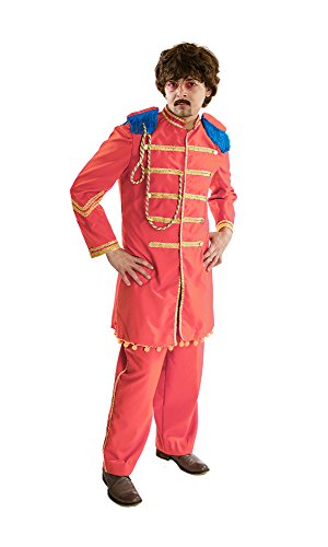 [HouseHaunters Lonely Hearts Club Costume, Orange, One Size] (Sgt Pepper Paul Costume)